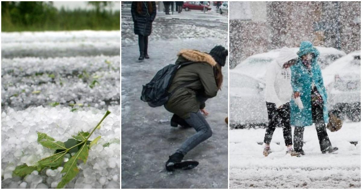 Figyelmeztetést adott ki az OMSZ - Jeges eső, ónos eső és havazás várható
