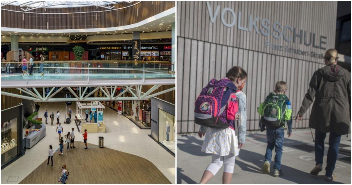 Ausztriában szigorodnak a szabályok - Bezárnak az iskolák és a bevásárlóközpontok is